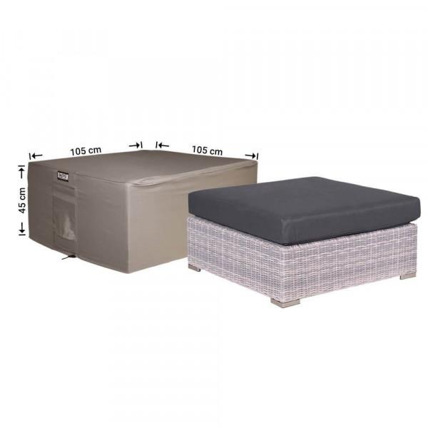 Schutzhülle für Lounge Hocker 105 x 105 H: 45 cm