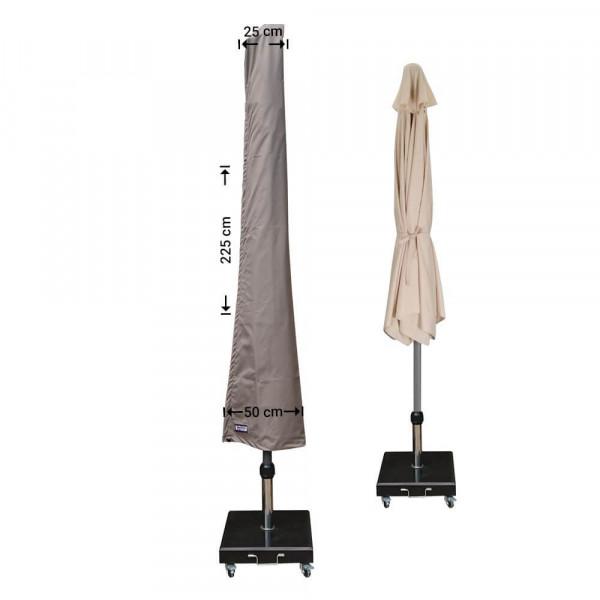 Schutzhülle für Sonnenschirm H: 225 cm