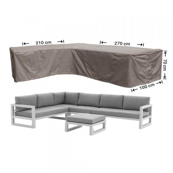 Schutzhülle für Rattan Lounge Sofa 270 x 210 x 100 H: 70 cm