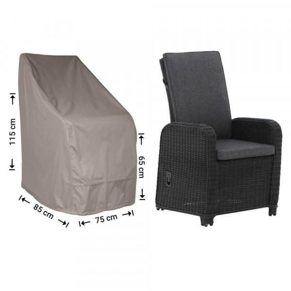 Abdeckhaube für Gartenstühle 85 x 75 H: 115/65 cm