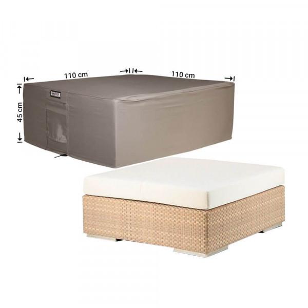 Abdeckung für niedrigen Gartentisch 110 x 110 H: 45 cm