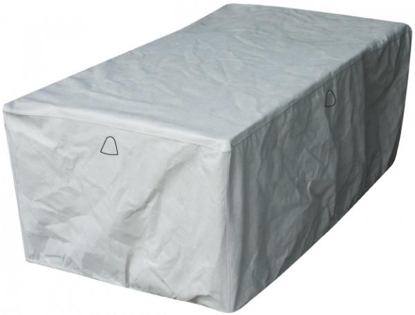 Abdeckung für rechteckige Gartentisch 225 x 110 H: 75 cm
