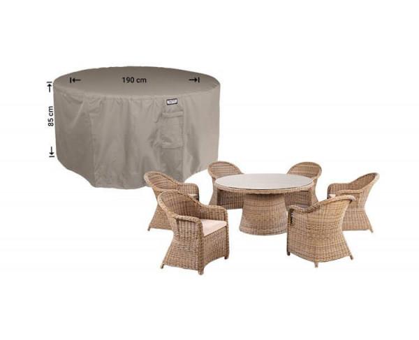 Abdeckung für runder Tisch Ø 190 H: 85 cm