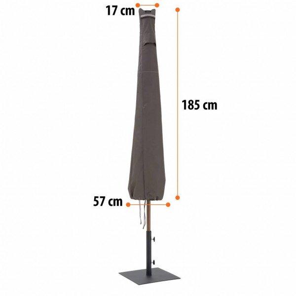 Sonnenschirmabdeckung H: 185 cm