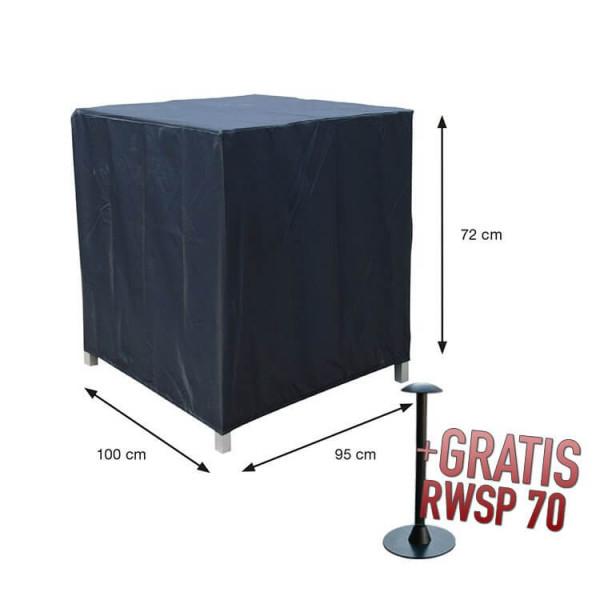 Schutzhülle Lounge Sessel 100 x 95 H:72 cm