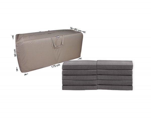 Schutzhülle für Loungemöbel-Kissen 175 x 80 x 80 cm
