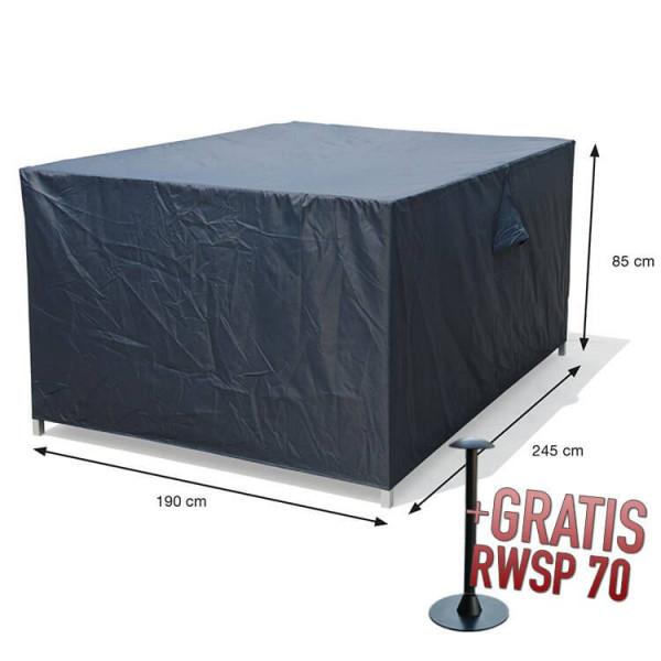 Schutzhülle für Gartenmöbel Rechteckig 245 x 190 H85 cm