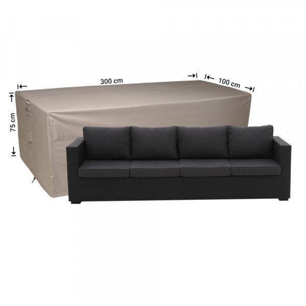 Abdeckung für 4-Sitzer-Loungesofa 300 x 100 cm