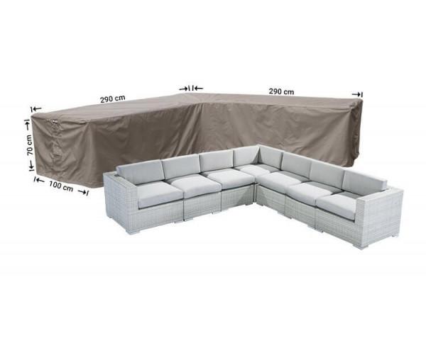 Schutzhülle Lounge L-Form290 x 290 x 100 H: 70 cm