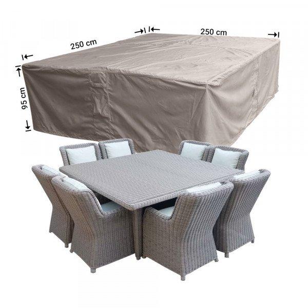 Gartenmöbel Schutzhülle für Sitzgruppe 250 x 250 H: 95 cm