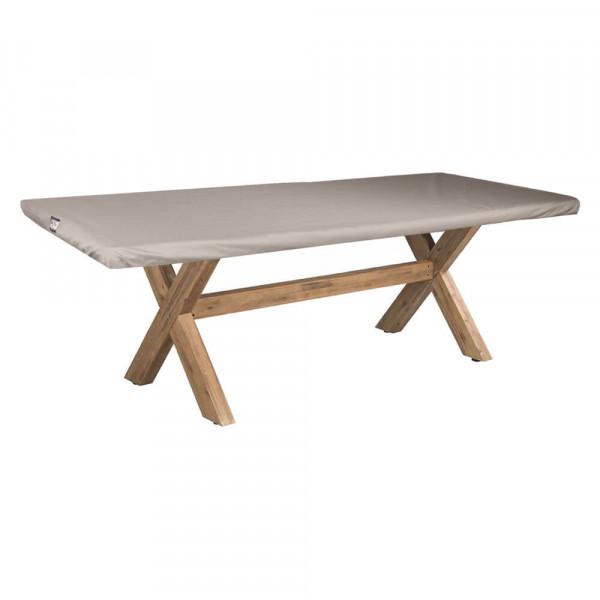 Abdeckung für eine Tischplatte 220 x 100 cm