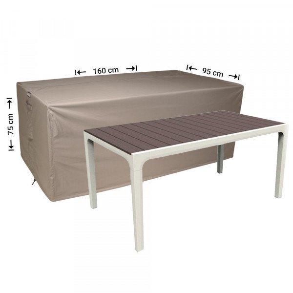 Abdeckplane für Gartentische 160 x 95 H: 75 cm
