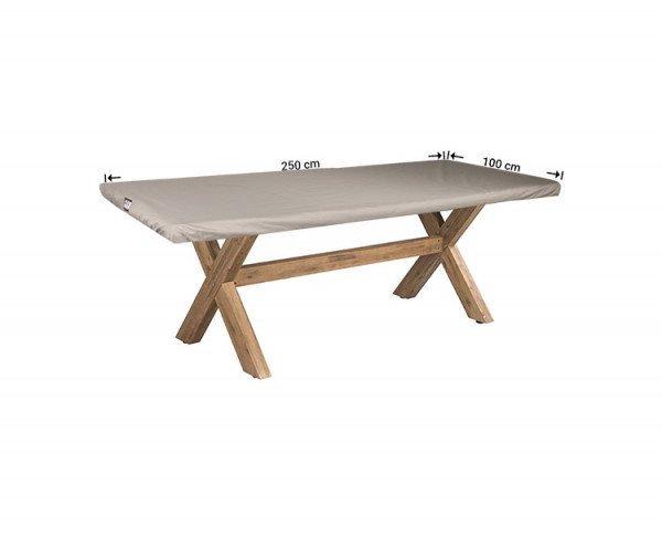 Schutzhülle für eine rechteckige Tischplatte 250 x 100 cm