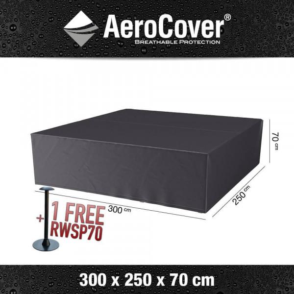 Schutzabdeckung für Loungemöbel 300 x 250 H: 70 cm