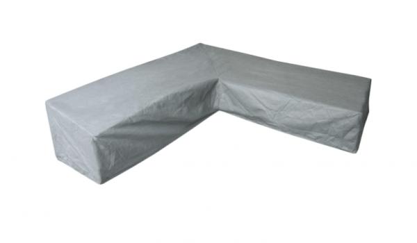 Dining-Loungemöbel Abdeckschutz für L-Form 325 x 325 H: 105/70 cm