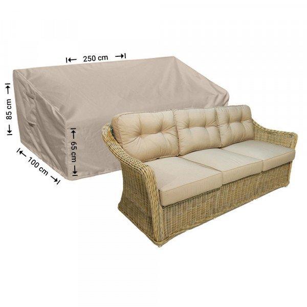 Loungebank Abdeckhaube 250 x 100 H: 85/65 cm