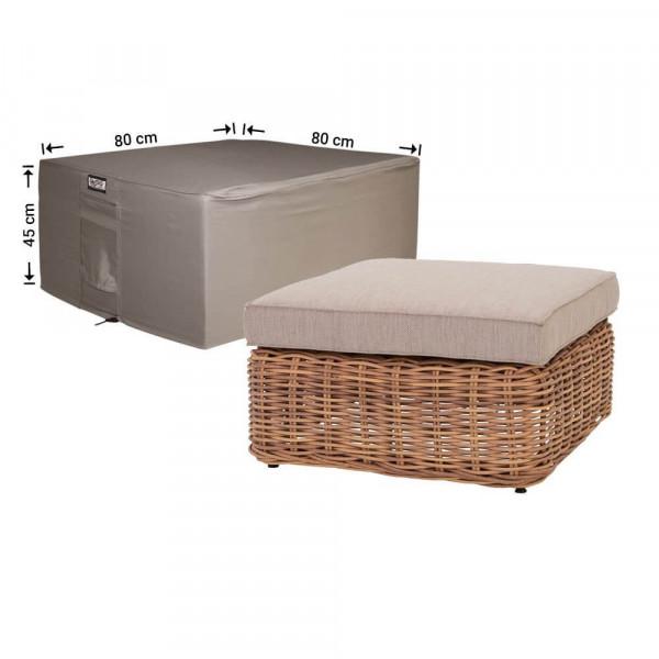 Abdeckung für Lounge gedeckten Tisch 80 x 80 H: 45 cm