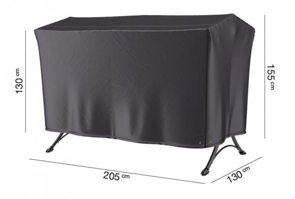 Schutzhülle für Gartenschaukeln 205 x 130 H: 155 / 130 cm