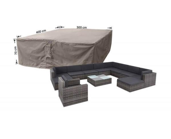 Schutzhaube für Garten-Lounge Garnitur 400 x 300 H: 70 cm