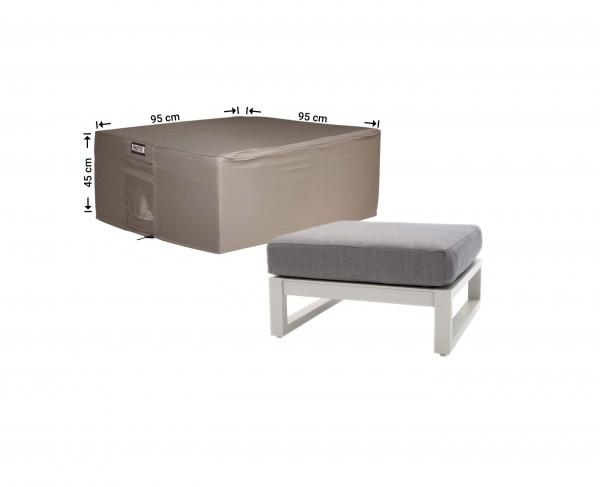 Abdeckung für Lounge-Tisch 95 x 95 H: 45 cm
