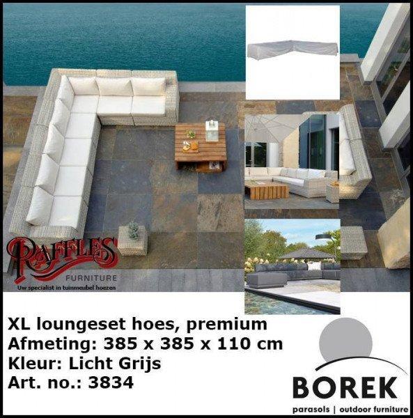 Lounge Set Schutzhülle für Ecksofa 385 x 385 x 110 H: 65 cm