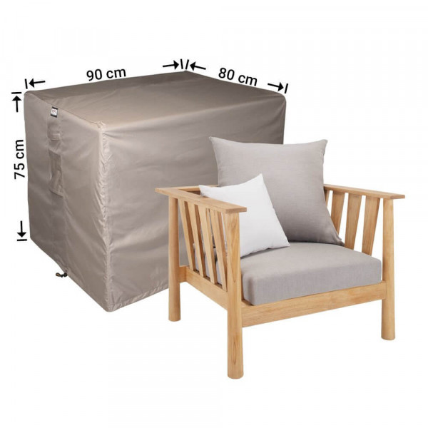 Lounge Gartenstuhlabdeckung 90 x 80 H: 75 cm