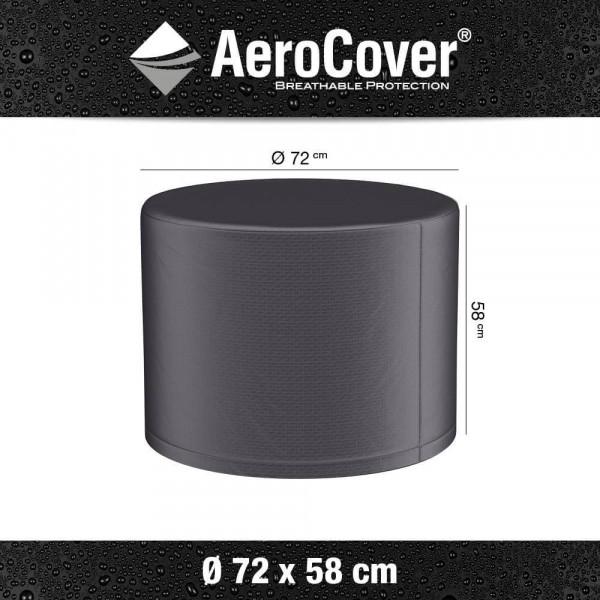 Schutzhülle für runde Outdoor Lava Ofen Feuerstelle Ø 72 cm H: 58 cm