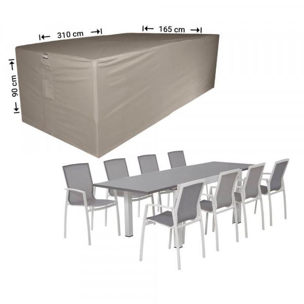 Schutzhülle für Gartenmöbelset 310 x 165 H: 90 cm