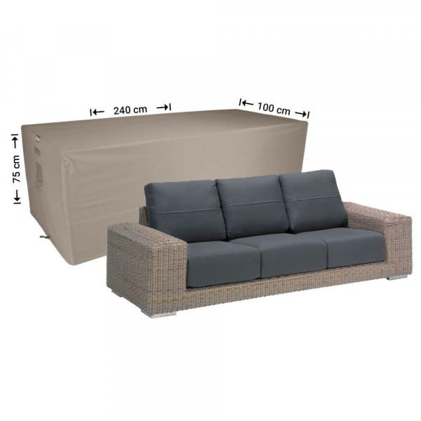 Lounge-bank Schutzhülle 240 x 100 H: 75 cm
