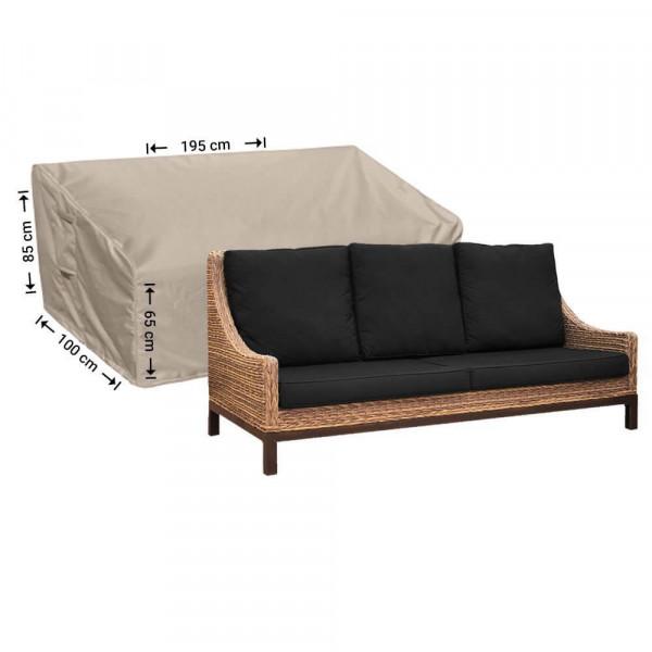 Loungeset Sofa Schutzhülle 195 x 100 H: 85/65 cm