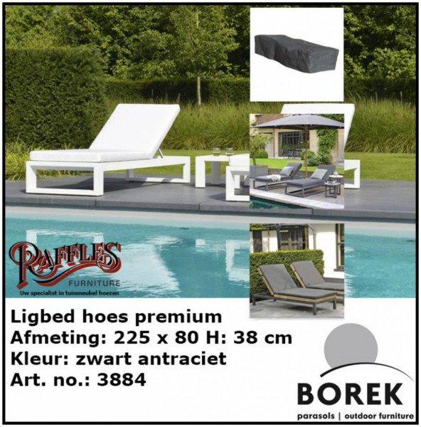 Schutzhülle für Gartenliege 225 x 80 H: 40 cm