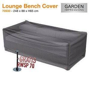 Lounge Sofa Hülle 248 x 88 H:65 cm