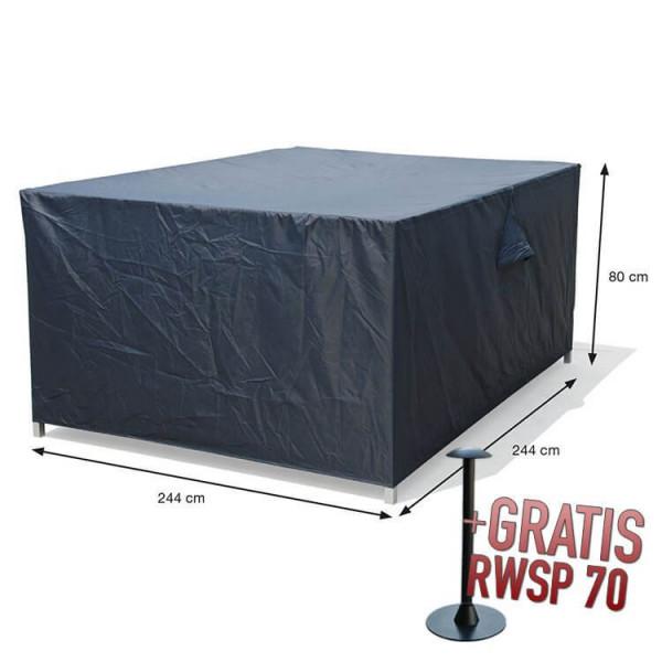 Schutzhülle Lounge Dining Set 244 x 244 H:80 cm