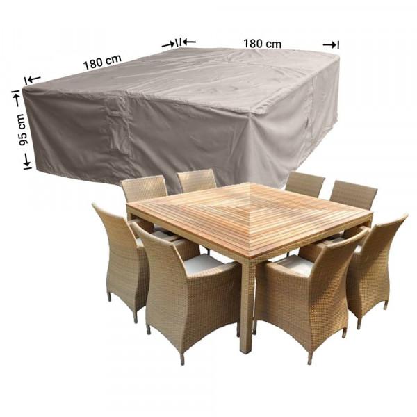 Abdeckplane für Gartenmöbel 180 x 180 H: 95 cm