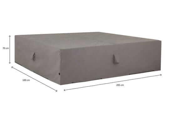 Schutzhülle für Lounge-Möbelset 205 x 100 H: 70 cm