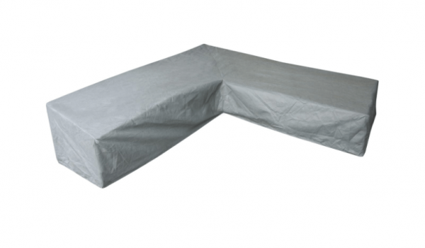 L-Form Dining-Loungemöbel Abdeckschutz 305 x 250 H: 100/70 cm