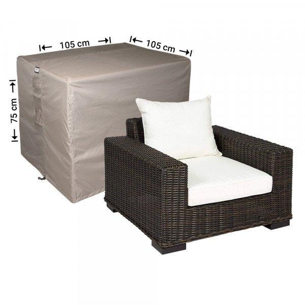 Schutzhülle für Lounge Stuhl 105 x 105 H: 75 cm