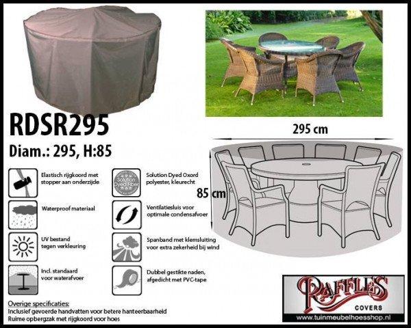 Schutzhülle für Sitzgruppe, rund 295 H: 85 cm