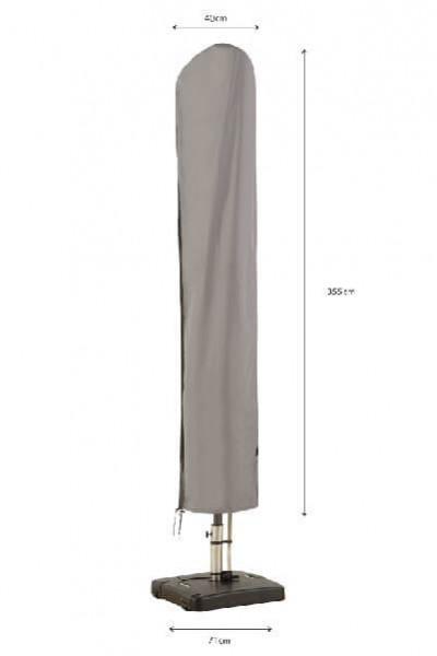 Sonnenschirmhülle mit Stab H: 355 cm