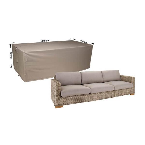Lounge Gartenbank Abdeckung 280 x 100 cm