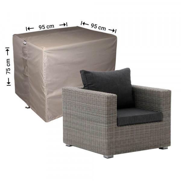 Wetterschutz für Rattan Lounge Sessel 95 x 95 H: 75 cm