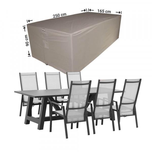 Wetterschutz für Gartenmöbel Sitzgruppe 250 x 165 H: 90 cm
