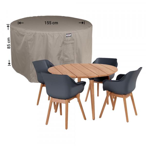 Abdeckplane für runder Gartenmöbel-Set Ø 155 H: 85 cm