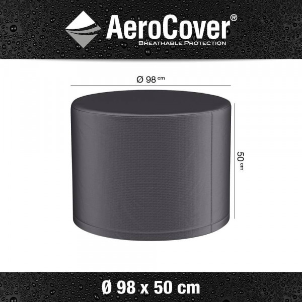 AeroCover Schutzhülle für runde Outdoor Kamin, Ø: 98 cm H: 50 cm