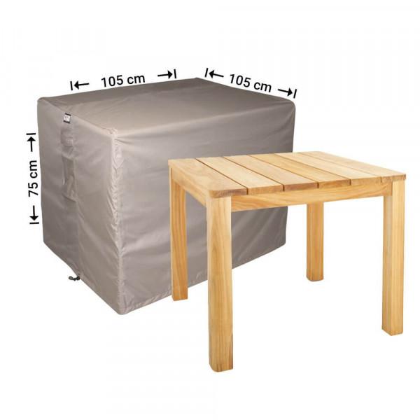 Schutzhülle für quadratische Gartentisch 105 x 105 H: 75 cm