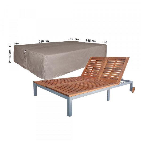 Schutzhülle für Gartenliege 210 x 145 cm