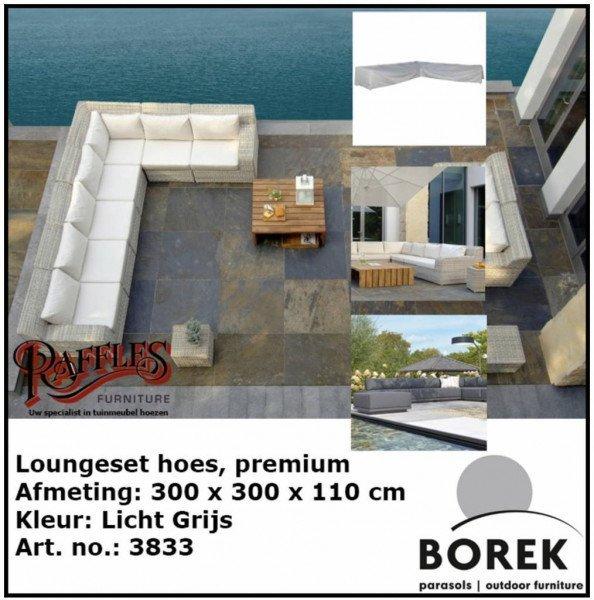 Lounge Set Schutzhülle für Ecksofa 300 x 300 x 110 H: 65 cm