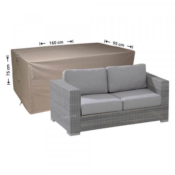 Wetterschutz für Lounge Sofa 160 x 95 H: 75 cm